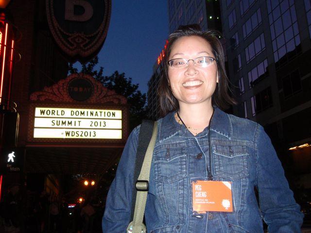 Peg Cheng at WDS 2013